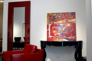 רוני בקשי, ציורי אבסטרקט ואוירה 10