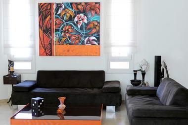 רוני בקשי, ציורי אבסטרקט ואוירה 14