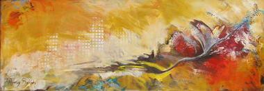 רוני בקשי, ציורי אבסטרקט ואוירה 15