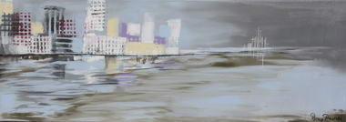 רוני בקשי, ציורי אבסטרקט ואוירה 17