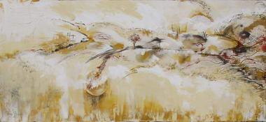 רוני בקשי, ציורי אבסטרקט ואוירה 19