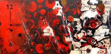 רוני בקשי, ציורי אבסטרקט ואוירה 3