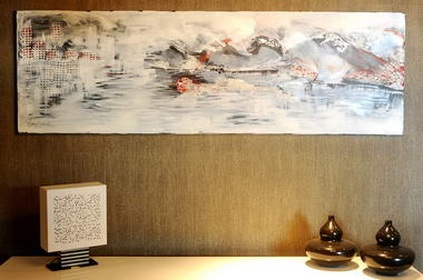רוני בקשי, ציורי אבסטרקט ואוירה 7