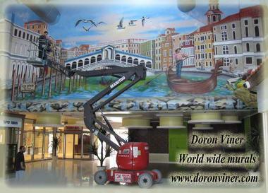 דורון וינר – ציורי קיר 10