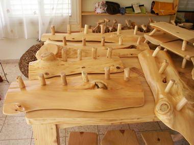 לסא פיטרסון - עבודות עץ מלא 17