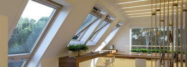 עליית גג – חלונות גג 1