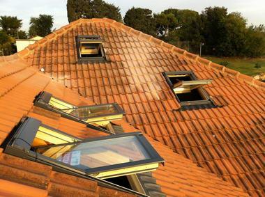 עליית גג – חלונות גג 12