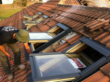 עליית גג – חלונות גג 13