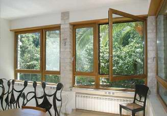 רויאל - חלונות עץ אלומיניום 6
