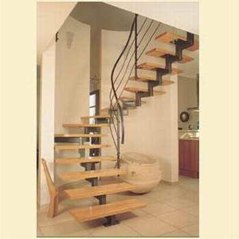 קו נבון - מדרגות עץ ומתכת 13