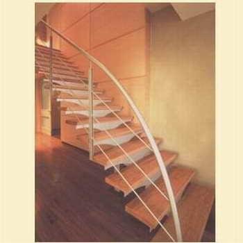 קו נבון - מדרגות עץ ומתכת 15