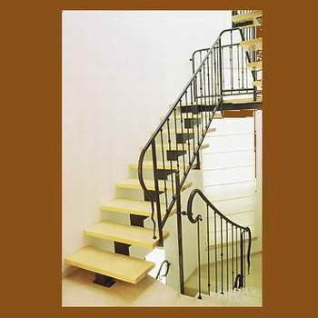 קו נבון - מדרגות עץ ומתכת 16