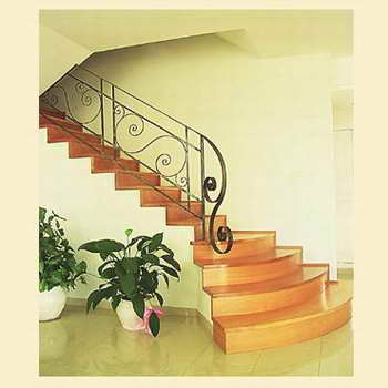 קו נבון - מדרגות עץ ומתכת 17