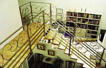 קו נבון - מדרגות עץ ומתכת 3
