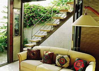 קו נבון - מדרגות עץ ומתכת 4