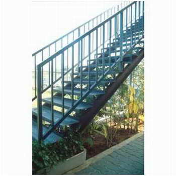 קו נבון - מדרגות עץ ומתכת 5