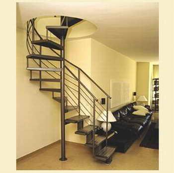 קו נבון - מדרגות עץ ומתכת 7