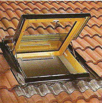 הגג האיטלקי - סולמות וחלונות גג 17