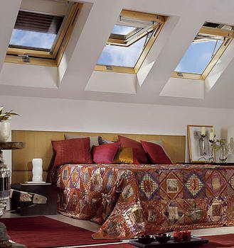 הגג האיטלקי - סולמות וחלונות גג 8