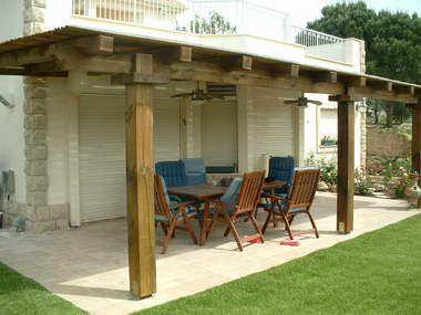 בית עץ ואלומיניום פרויקטים 16