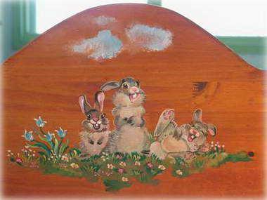 חגית דביר - ציור על עץ 3