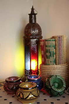 כחול זהב - חפצי נוי מרוקאים 11