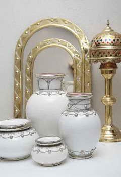 כחול זהב - חפצי נוי מרוקאים 5