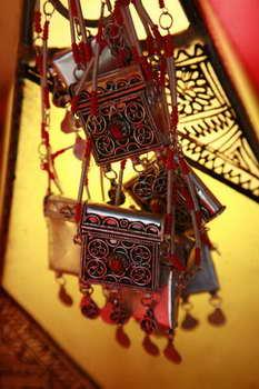 כחול זהב - חפצי נוי מרוקאים 7