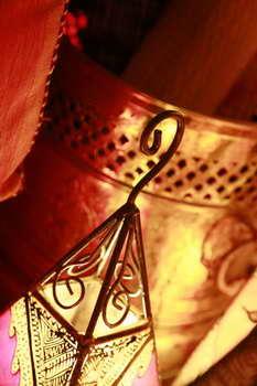 כחול זהב - חפצי נוי מרוקאים 9