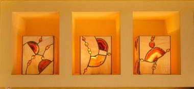 משה גפן- עיצובים בזכוכית 1
