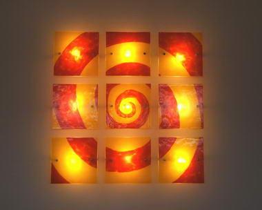 משה גפן- עיצובים בזכוכית 19