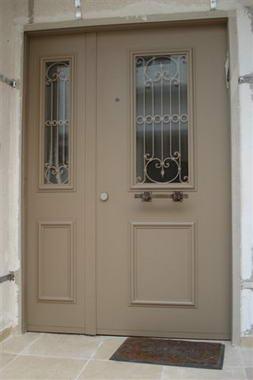 עכביש - דלתות פלדה מעוצבות 1