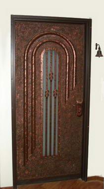 עכביש - דלתות פלדה מעוצבות 14