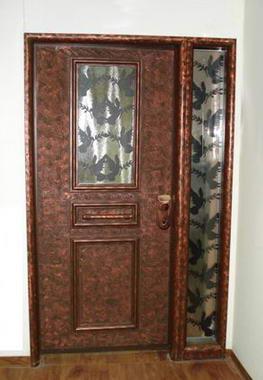 עכביש - דלתות פלדה מעוצבות 15