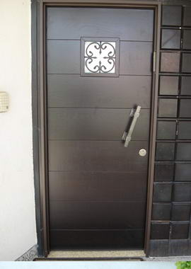 עכביש - דלתות פלדה מעוצבות 2