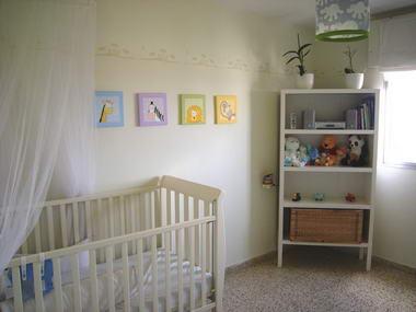 שרה מויאל - עיצוב חדרי ילדים 3