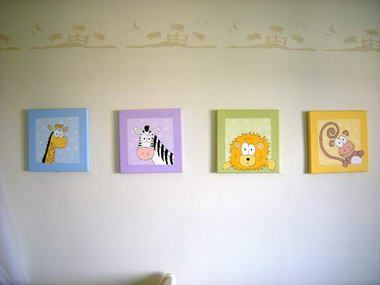 שרה מויאל - עיצוב חדרי ילדים 6