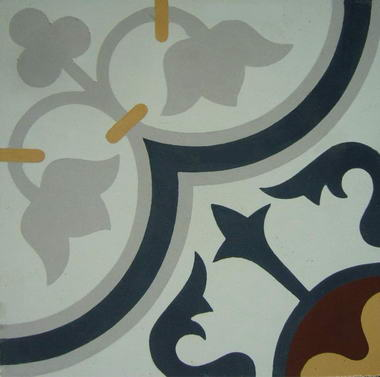 נגה-  אריחי בטון מעוטרים 12