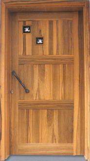 פלג דלתות עץ  9