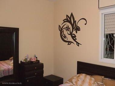 פלורה - ציורי קיר 1