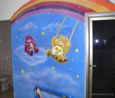 פלורה - ציורי קיר 12