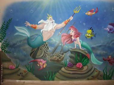 פלורה - ציורי קיר 14