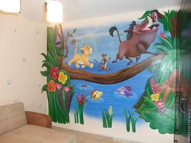 פלורה - ציורי קיר 15