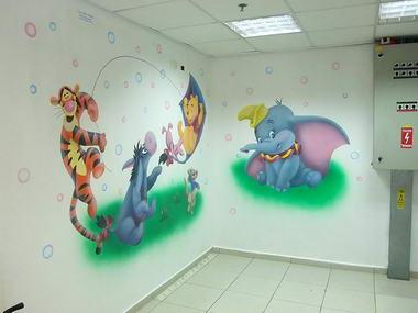 פלורה - ציורי קיר 17