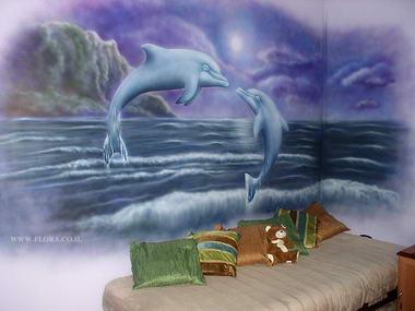 פלורה - ציורי קיר 18