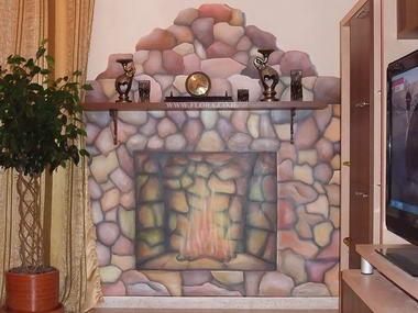 פלורה - ציורי קיר 8